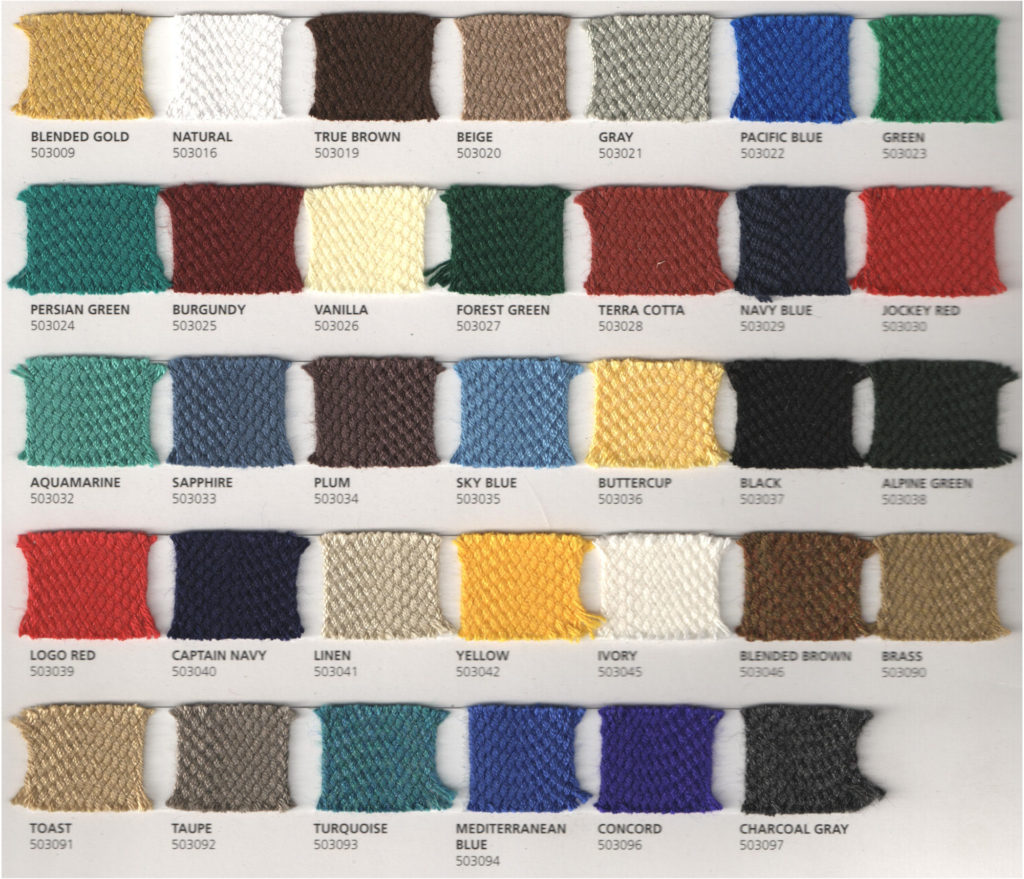 Quality awnings installed in atlanta ga asheville nc knoxville tn braid color chart nvjuhfo Choice Image