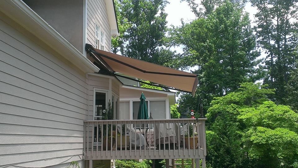 quality awnings installed in atlanta ga asheville nc knoxville tn